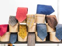 Vintage neckties Stock Photo