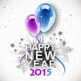 Vintage New Year 2015 Stock Photos