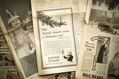 Vintage news paper background, London Stock Images