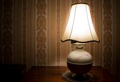 Vintage night lamp Royalty Free Stock Photo