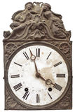Vintage nineteenth century clock Stock Images