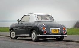 Vintage nissan figaro car Stock Images