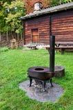 Vintage  Norwegian stove. Stock Photography