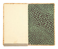 Vintage note book cover Royalty Free Stock Images