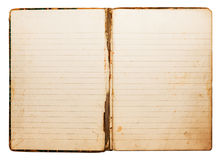 Vintage notebook Royalty Free Stock Image