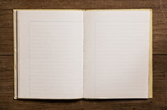 Vintage notebook Royalty Free Stock Images