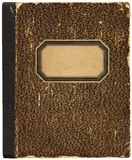 Vintage notebook/cookbook royalty free stock photos