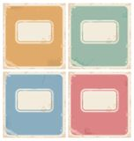 Vintage notebook covers Stock Images