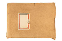Vintage notebook Stock Photography