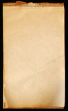 Vintage Notepad Paper Stock Images