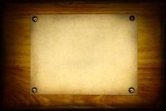 Vintage Notice Board Royalty Free Stock Photos