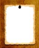 Vintage Notice Board Stock Image