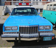 Vintage NYPD Plymouth police car Royalty Free Stock Photo