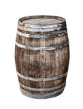 Vintage oak cask Stock Photo