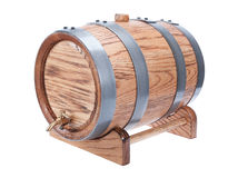 Wine barrel Stock Photo