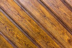 Vintage oak wooden door panel texture Stock Photography