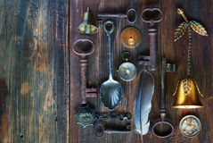Vintage objects background Royalty Free Stock Photo
