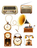 Vintage objects Royalty Free Stock Image