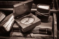 Vintage objects Stock Images