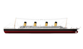 Vintage Ocean Liner Royalty Free Stock Image