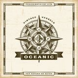Vintage Oceanic Label Royalty Free Stock Image