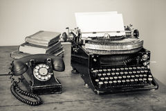 Vintage Office Equipment Royalty Free Stock Image