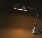 Vintage office lamp Stock Photography