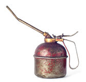 Vintage oil can Royalty Free Stock Photo
