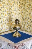 Vintage Oil Lamp Stock Images