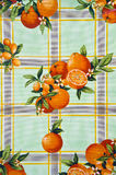 Vintage oilcloth background Stock Image