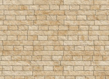 Vintage old antique brick wall backgrounds Stock Images