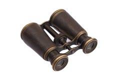 Vintage old binoculars Royalty Free Stock Photos