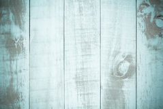 Vintage old blue Wood Texture Background Stock Images