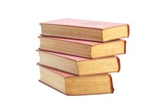 Vintage Old Books royalty free stock photos