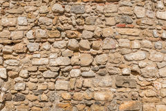 Vintage Old Brick Stone Wall. Background Texture Royalty Free Stock Photography