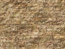 Vintage old brick wall background Royalty Free Stock Photos