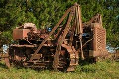 Vintage Old Bulldozer Royalty Free Stock Photography