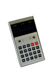 Vintage: old calculator royalty free stock photo