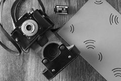 Vintage old camera Royalty Free Stock Images
