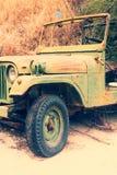 Vintage old car Stock Image