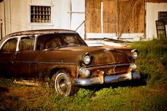 Vintage Old Car Stock Photo