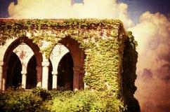 Vintage Old Castle Stock Image