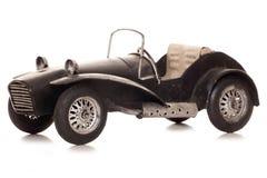 Vintage old caterham 7 sports car tin model Stock Image