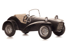 Vintage old caterham 7 sports car tin model Stock Images