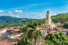 Vintage Old Church in Trinidad de Cuba Royalty Free Stock Photo