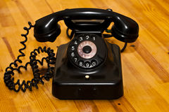 Vintage Old Classic Telephone Communication Device Stock Photography