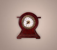 Vintage old clock with showing preicse time Royalty Free Stock Image