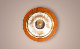 Vintage old clock with showing preicse time Stock Image