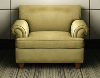 Vintage old couch Royalty Free Stock Image