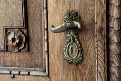 Old Door handle stock photos